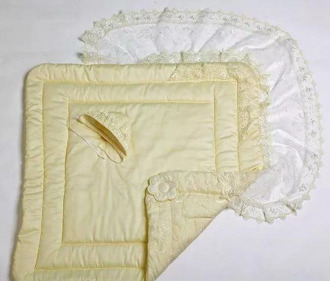 Размеры одеяла на выписку своими руками