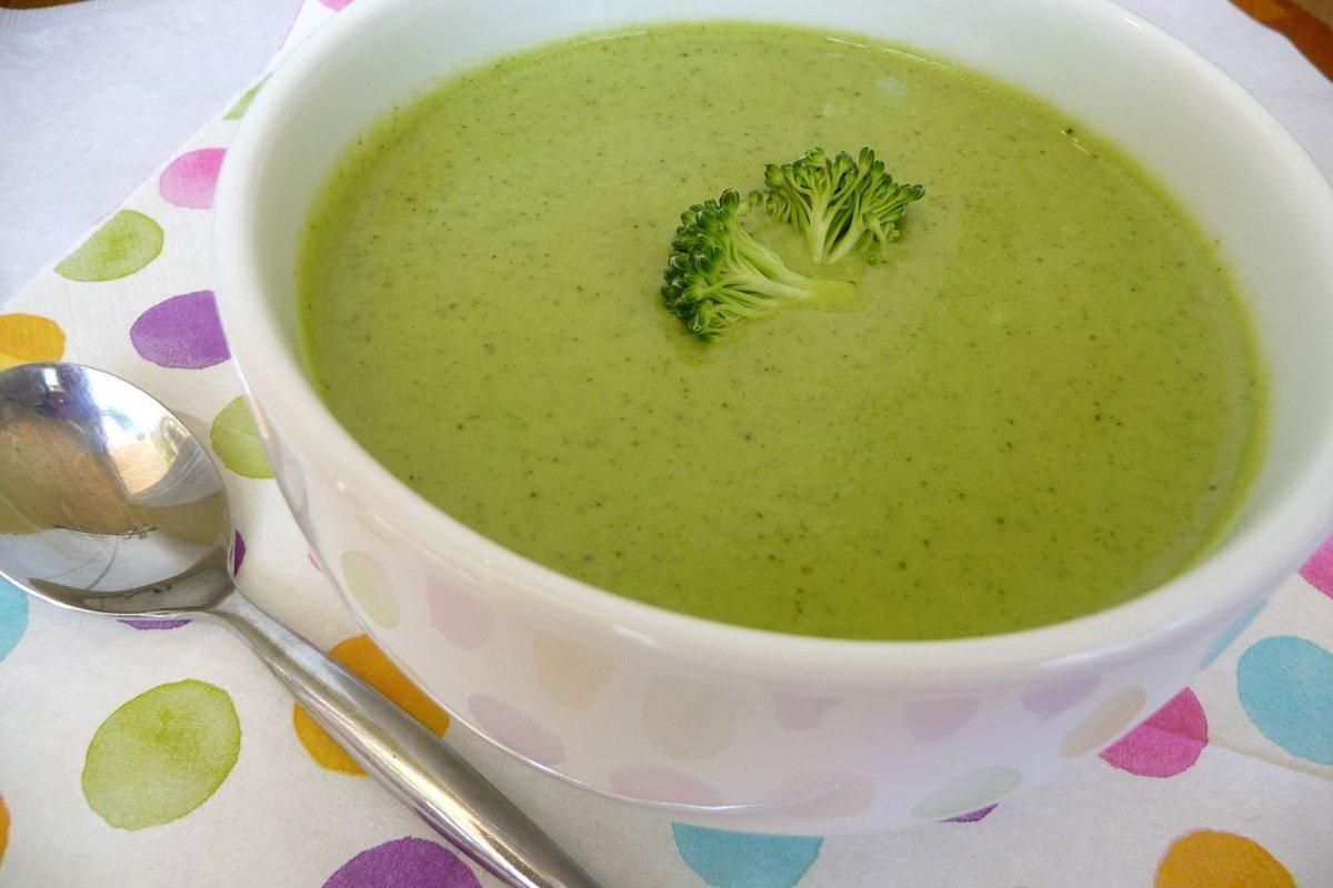 Брокколи крем суп диета