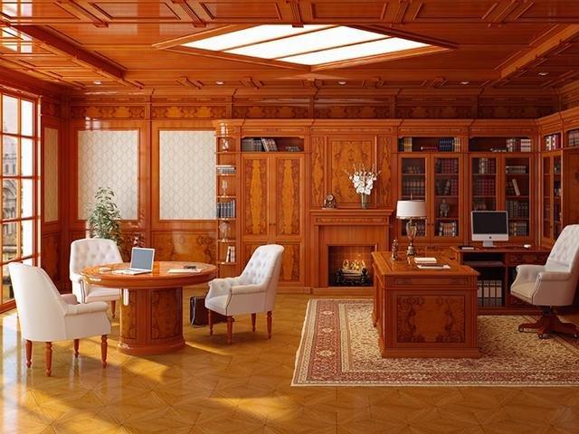 Элитные кабинеты  в классическом стиле