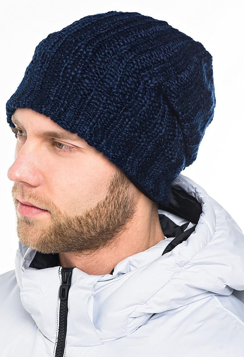 мужская стильная шапка вязать идеи схема