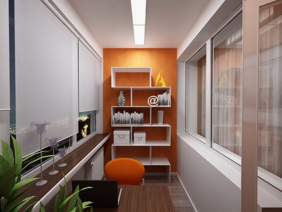 """Книжные полки на балконе и кабинет"""" - карточка пользователя ."""