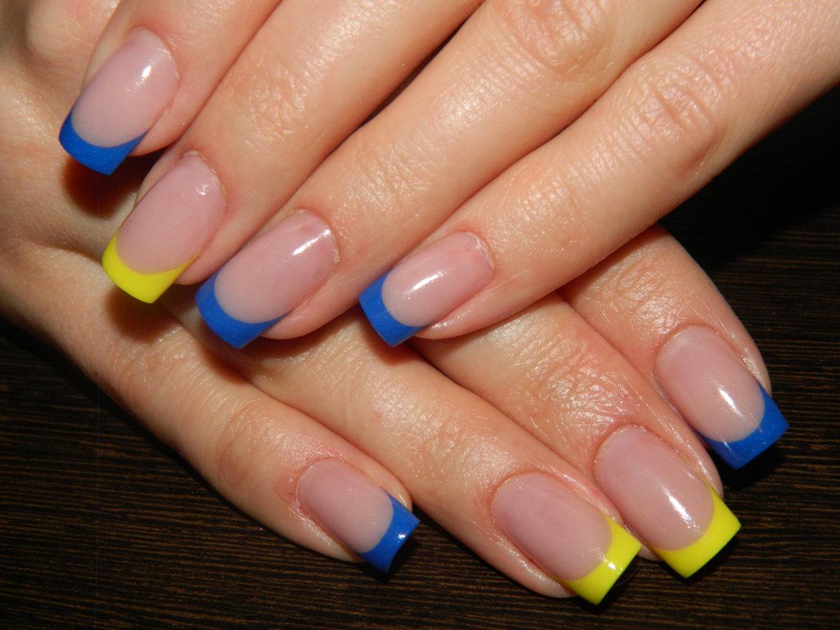 синий французский ногти фото сайт, выбрать категорию
