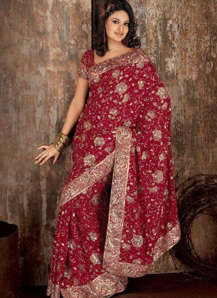 самом деле, индийские платья сари фото мгновенно
