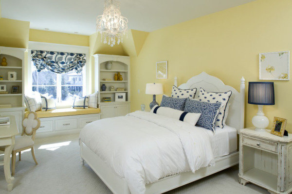 Спальня в стиле прованс способна быть и выдержанно скромной