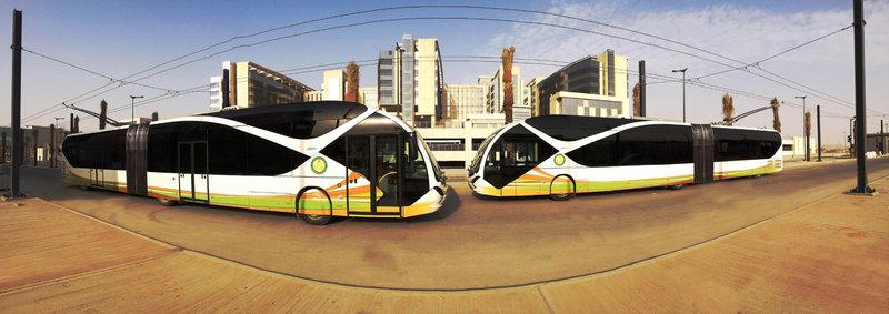Самые дорогие в мире троллейбусы курсируют в Саудовской Аравии и стоят свыше миллиона евро.