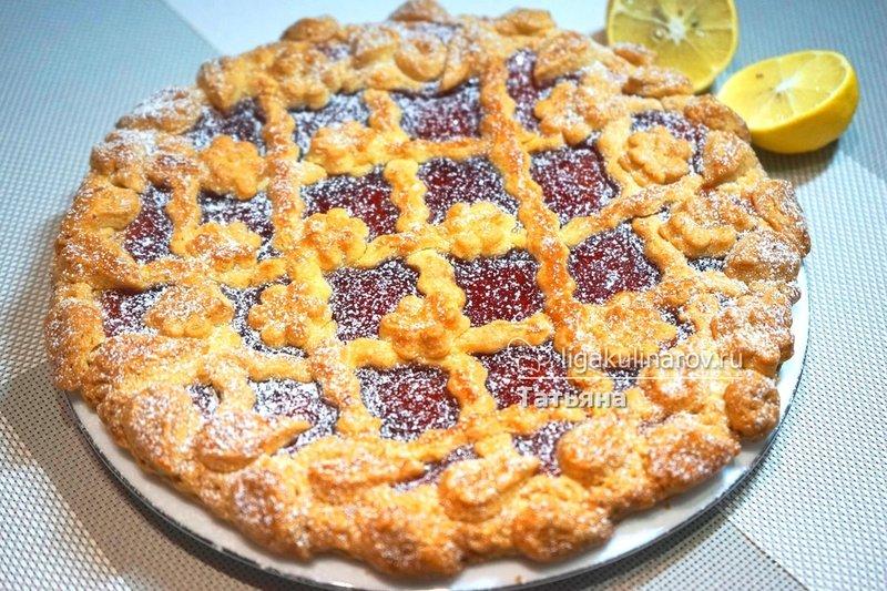 Пирог с джемом рецепт с фото пошагово
