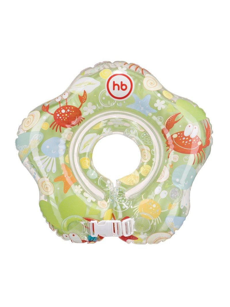 Надувной круг на шею предназначен для купания детей с рождения до года, на глубине не более 1 м. Круг изготовлен из качественных безопасных материалов, что исключает даже малейшую вероятность дискомфорта. Вставка для подбородка фиксирует положение головы и препятствует соскальзыванию. Лёгкость в использовании, компактное хранение, а главное  безопасность во время купания сделают круг SWIMMER незаменимым для принятия водных процедур.  ХАРАКТЕРИСТИКИ Подходит для самых маленьких Технология внутреннего шва делает контуры изделия мягкими и безопасными Вставка под подбородок надежно фиксирует положение головы Застежка в виде липучке липучки надежно фиксирует надувной круг.