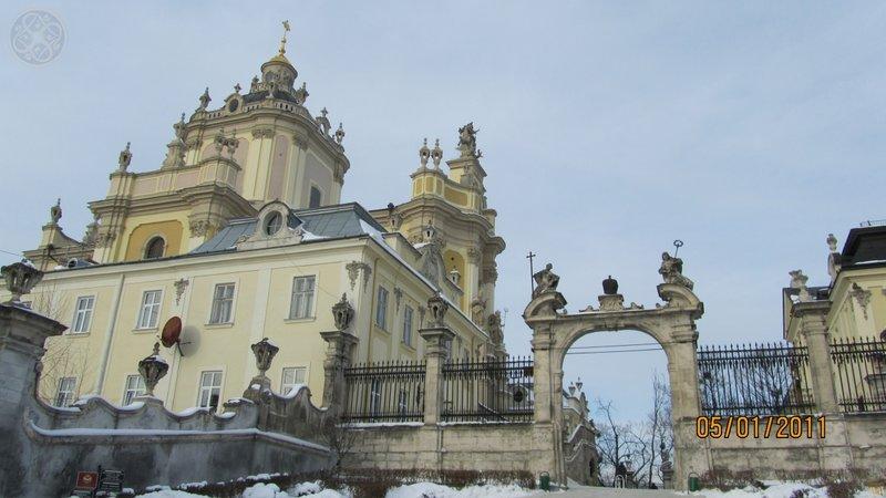Собор святого Юра зимой