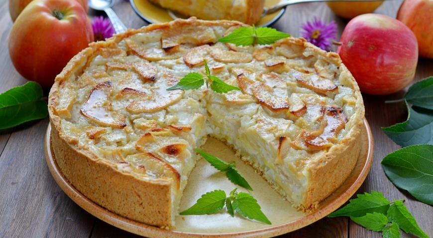 Цветаевский яблочный пирог в духовке