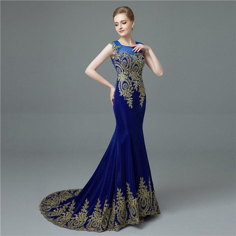Только синие бальные платья