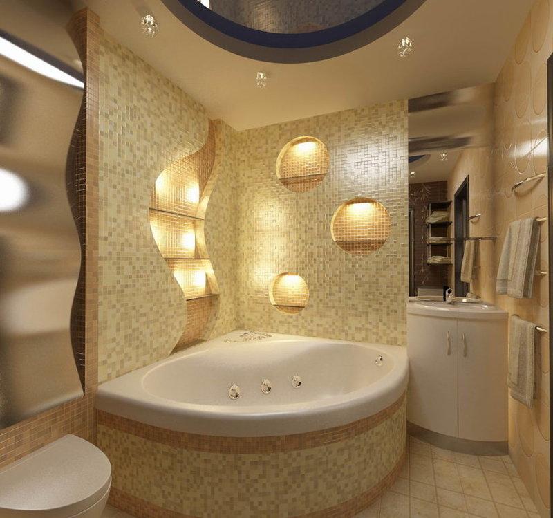 Дизайн ванной комнаты: ТОП-100 фото лучших идей для ...