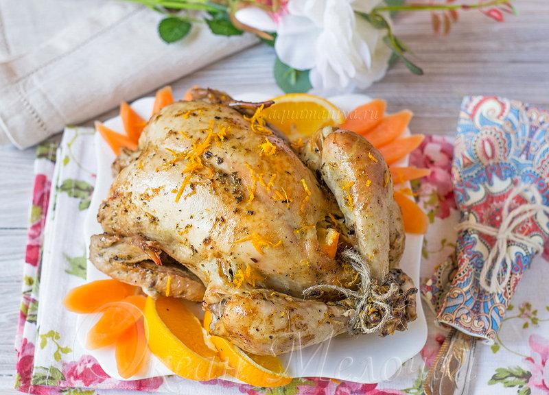 Курица огороде рецепт фото