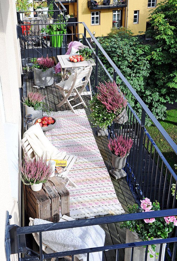 Через объектив: красивые балконы с цветочным оформлением.