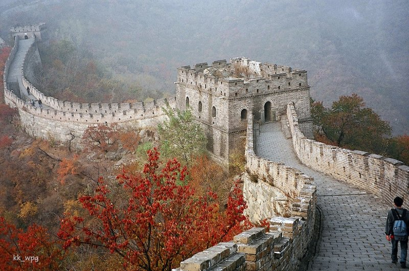 Участок Великой Китайской стены Мутяньюй, Пекин, Китай