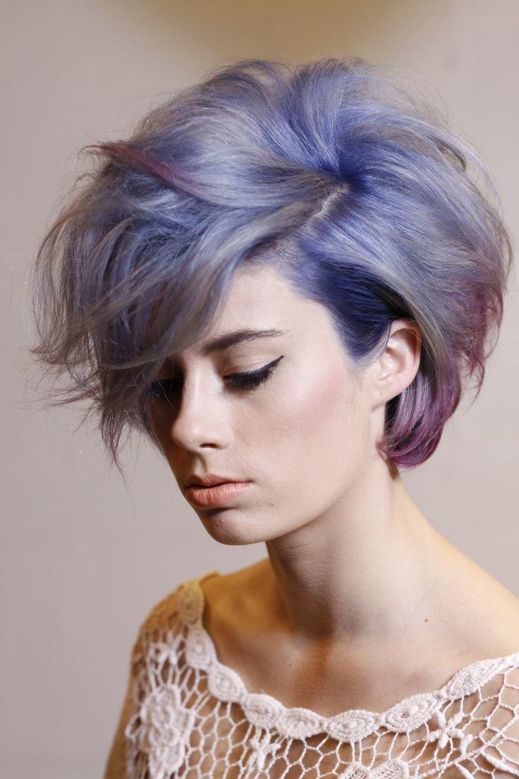 Цвет волос под