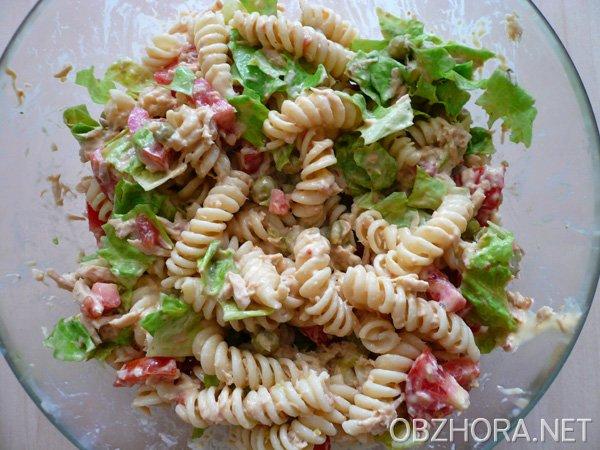 Фото рецепт салат из тунца 120