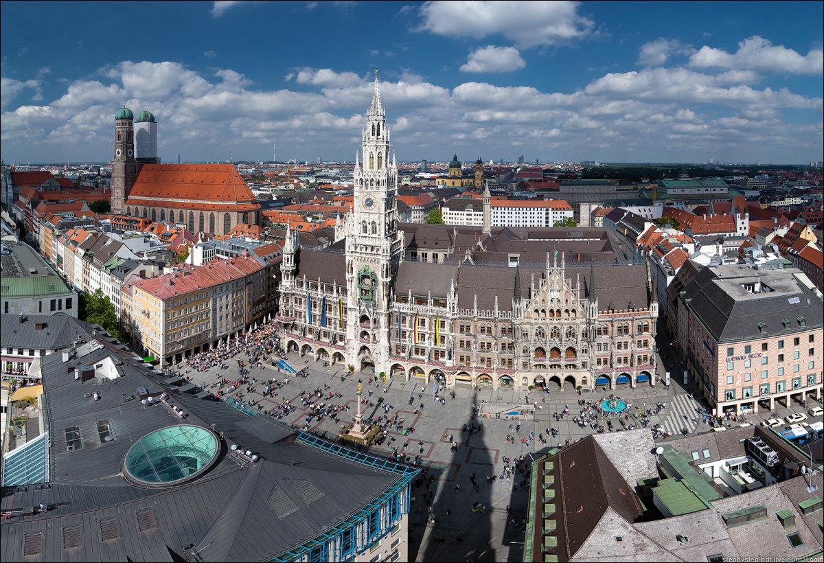 даже самом мюнхен площадь мариенплац фото площадку, делаем