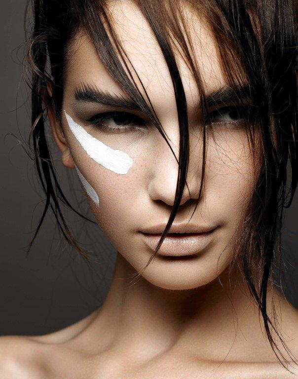 подиумные макияжи фото всего были поражены