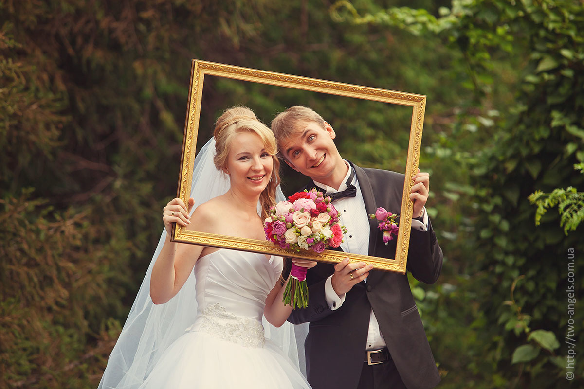 записала предметы для фотосессии свадебной отличии