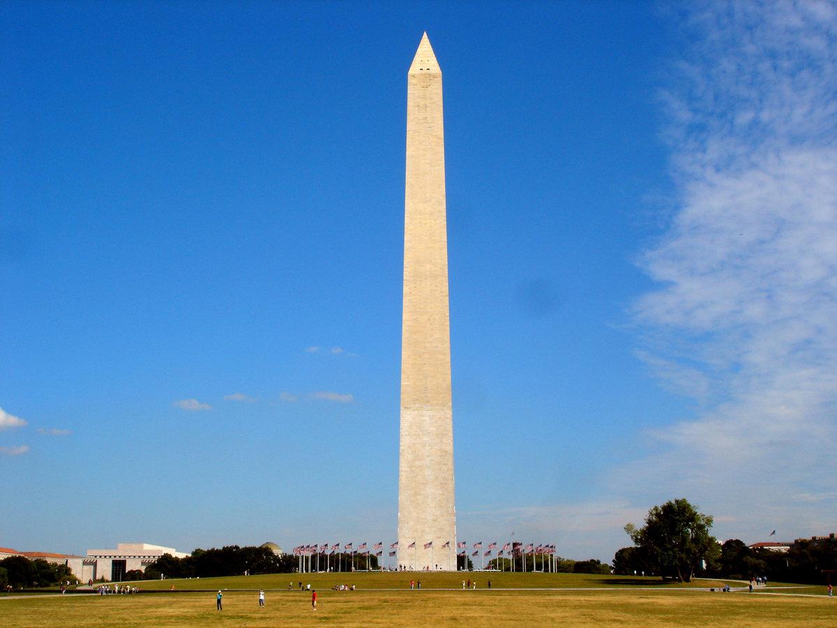 a history of the washington monument