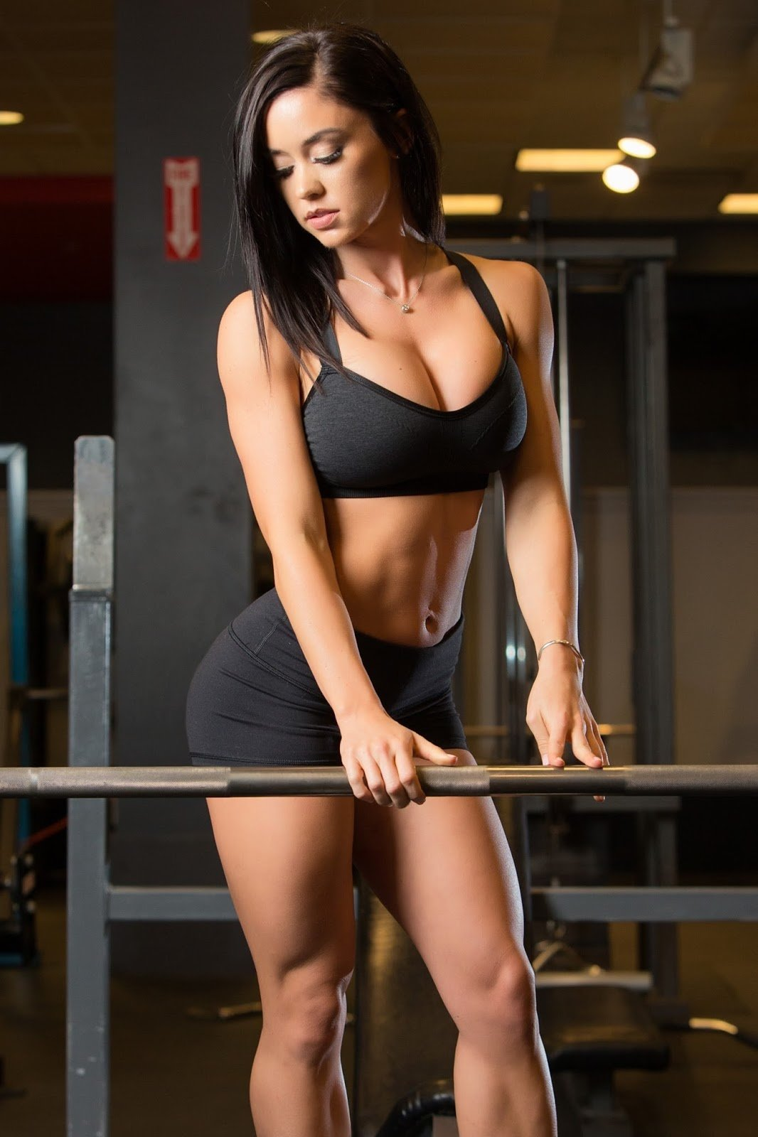 Nude Girls In The Gym