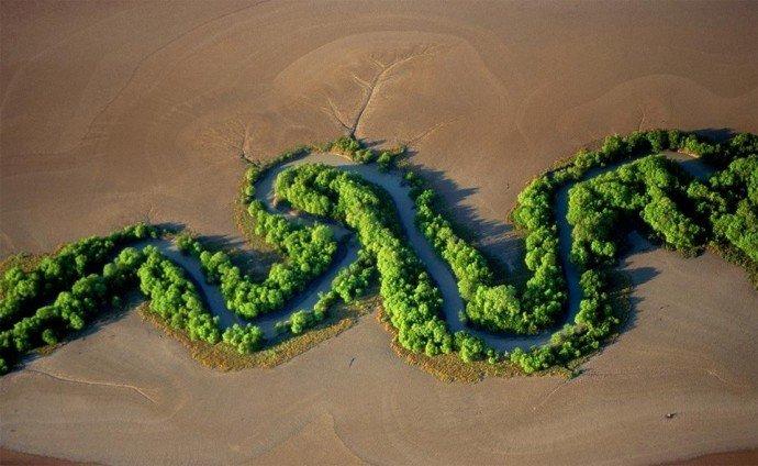 Река в Национальном парке Какаду,Австралия