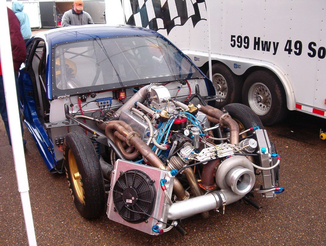 Big Turbo Drag Cars \