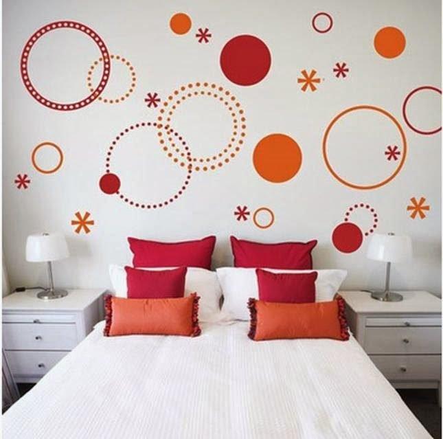 Как на стенах сделать круги