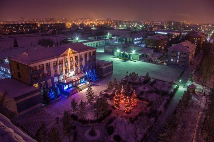 Костанай зимой фото