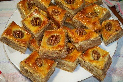 печенье пахлава рецепт с фото