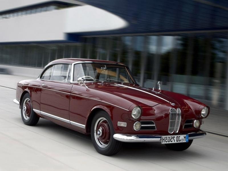 1956 BMW 503 Coupe retro f wallpaper background\