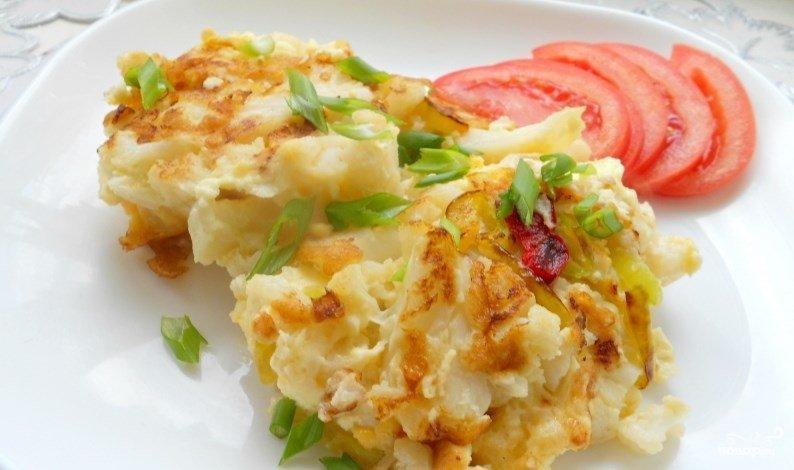 жареная капуста на сковороде с яйцом рецепт