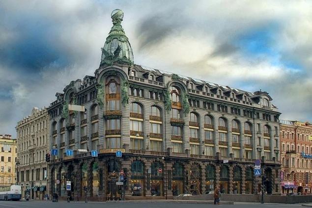 здание компании Зингер