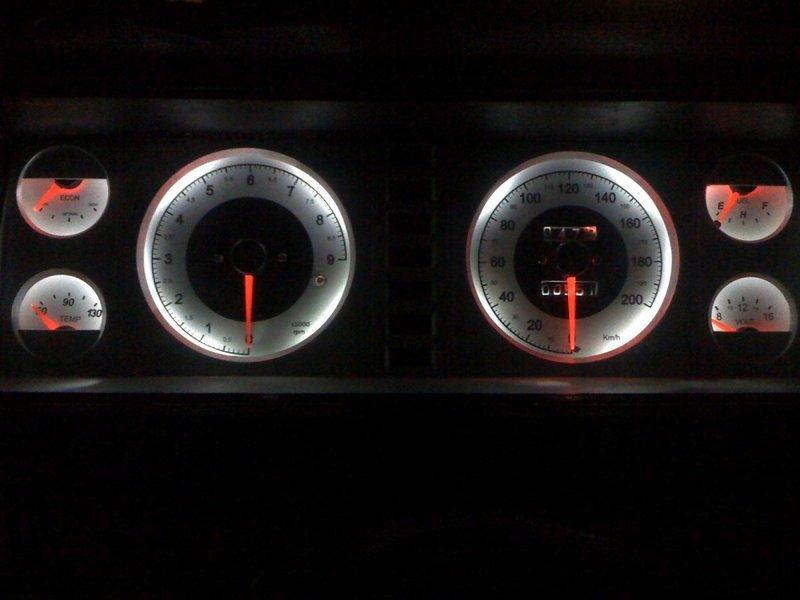 Тюнинг приборной панели ВАЗ 2107