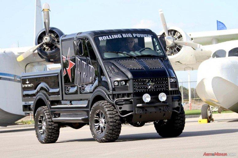 Bremach T-Rex Double Cab SEMA by RBP
