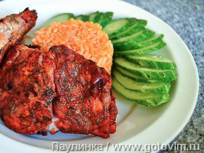 Рыба в томатном кляре. Фотография рецепта
