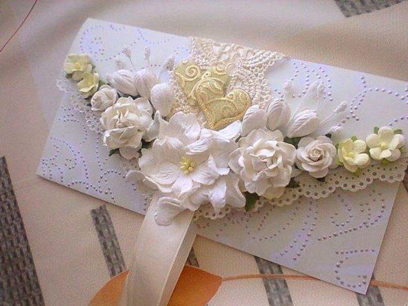 Открытка своими руками для денег на свадьбу своими руками