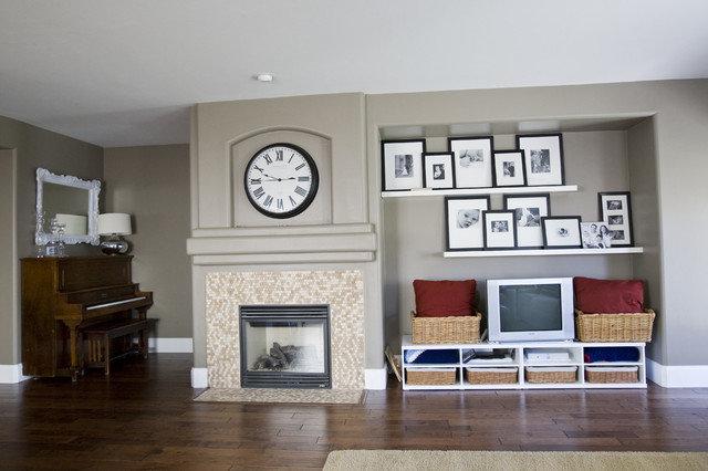 Идеально смотрится в дизайне гостинной