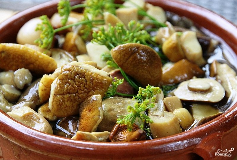 грибы маринованные простой рецепт с фото
