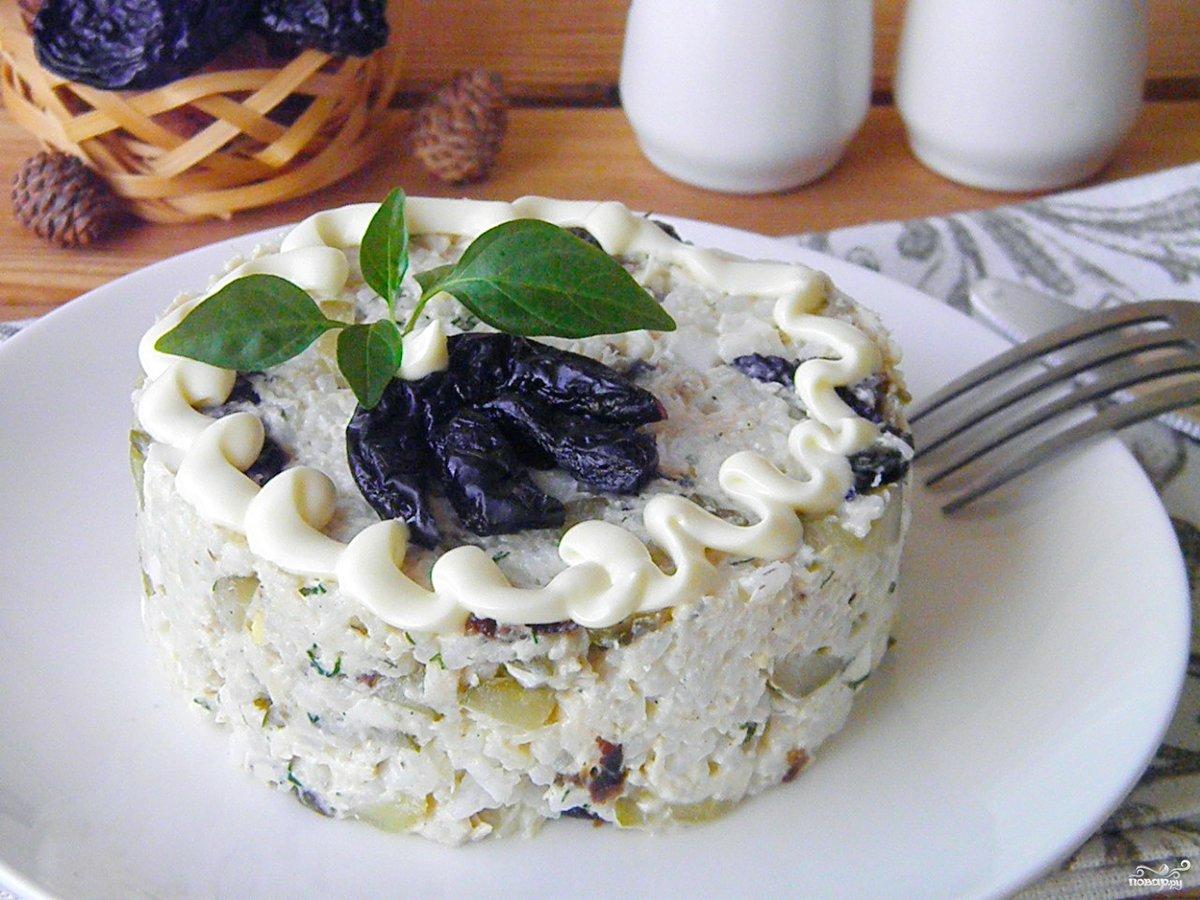 фото салат чернослива