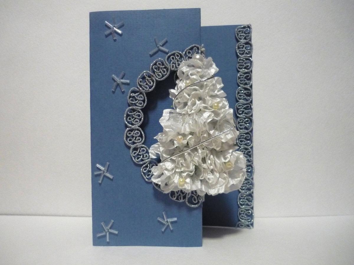 Новогодняя сказка открытка своими руками