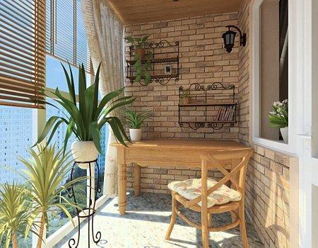 Французское остекление балкона или лоджии: плюсы и минусы.