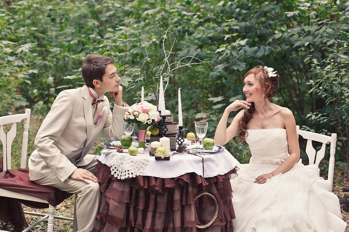 Свадьба на природе своими руками идеи