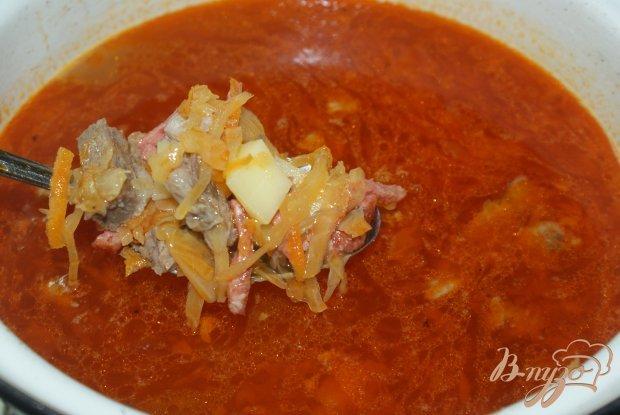 солянка сборная мясная с капустой классическая рецепт с фото