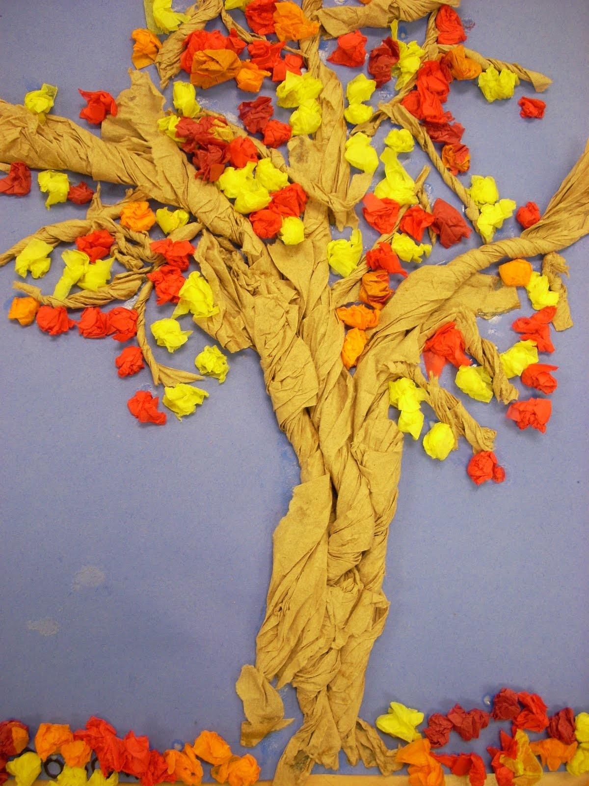 Поделки на тему золотая осень фото деревья 2