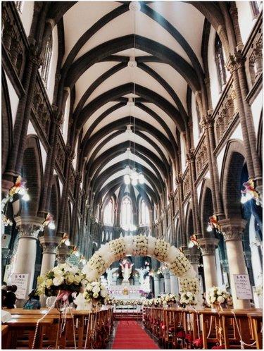 центральный неф собора парижской богоматери