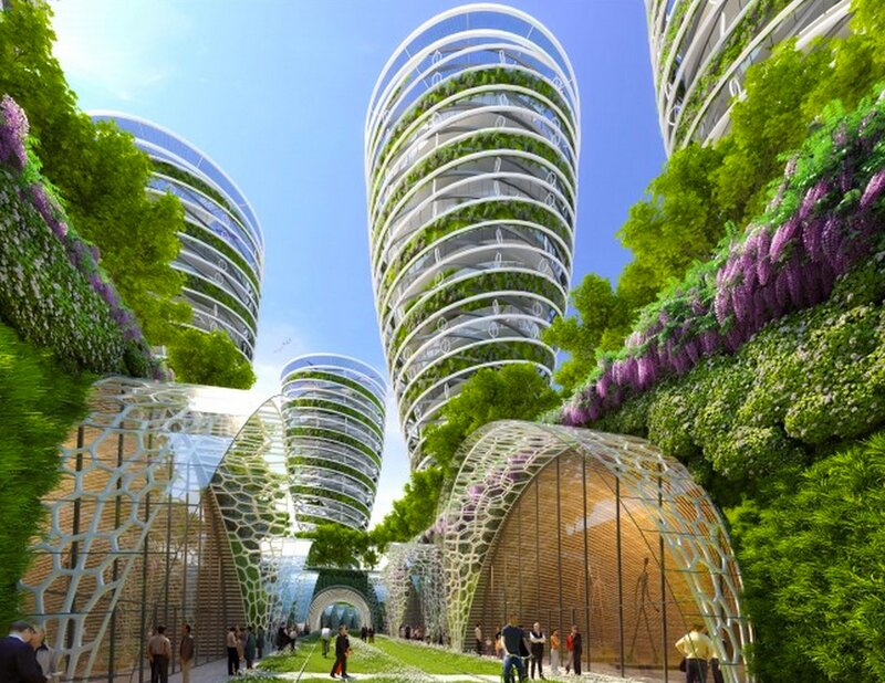 Pin Mad Architects Look To The Honeycomb Biomimetic Archi...