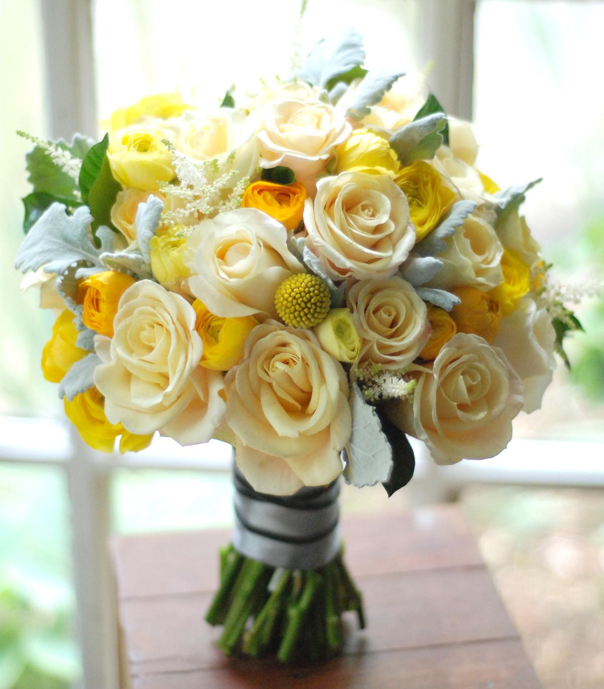 Свадьбу йошкар-оле, букет невесты композиция из желтых роз