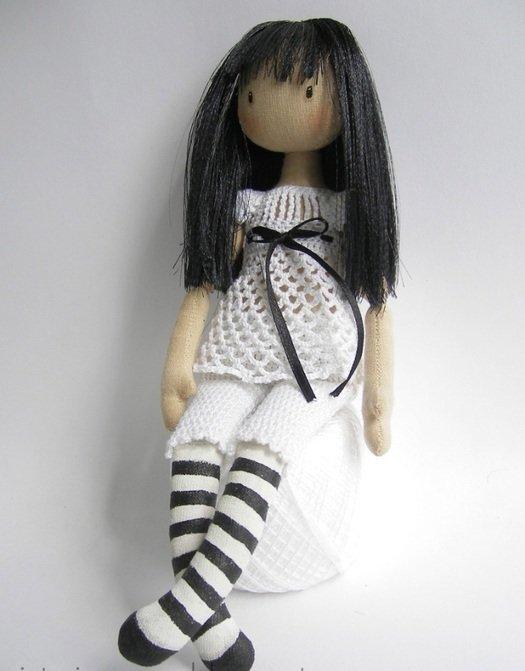 Как сшить куклу для начинающих фото 479