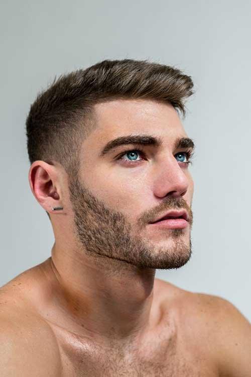 модные мужские стрижки с бородой